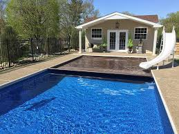 inground pool south hills pittsburgh rectangle automatic cover