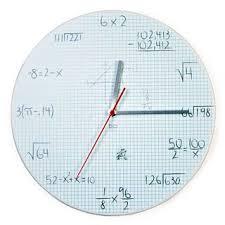 Graph Paper Pop Quiz Clock At Firebox Com Books Worth Reading