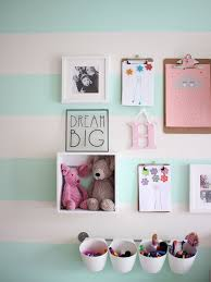 A little girl's pink and mint green bedroom tour. Inspiration and  decoration ideas for a