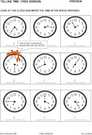 Learning Time Worksheets Preschool | Homeshealth.info