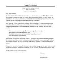 Representative Cover Letter Examples Livecareer Executive Job