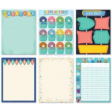 Mod Chart Mid Century Mod Classroom Essentials 6 Chart Pack Creative