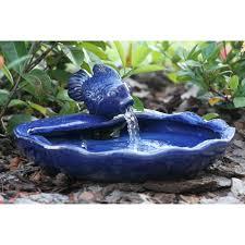 Sunnydaze Solar Garden Outdoor Water Fountain With Planter 19 Solar Garden Fountain