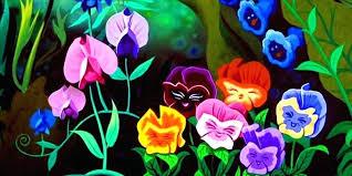 alice in wonderland garden credit flowers in wonderland alice in wonderland miniature garden ornaments