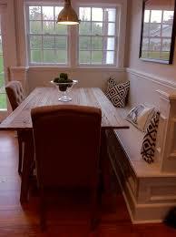 corner kitchen table with storage bench kenangorgun