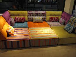 Low Seating Furniture Living Room This Module Sofa Is Both Bright And Practical Your Kids Can Roll