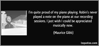 Maurice Gibb Quotes. QuotesGram via Relatably.com