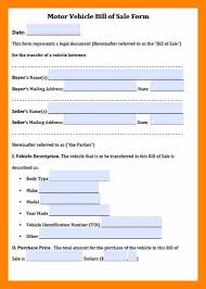 bill of sale letter 7 bill of sale sample for car informal letter