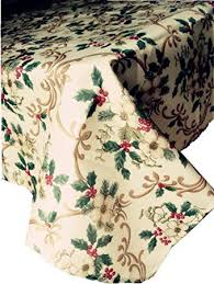 DIRECT2HOME Assorted Sizes <b>Christmas Holly Floral</b> Polyester ...