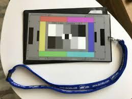 Details About Dsc Labs Camette Handy Color Chart Putora Sharpness Indicator Sold As Set