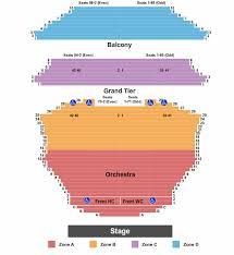 Gammage Auditorium Seating Chart Tempe