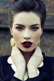 pale skin dark hair blue eyes makeup makeup blue