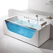 ... Bathtubs Idea, Bathtub Jet Spa Bathtub Spa Mat Walk In Jetted Jacuzzi  With Glass Door ...