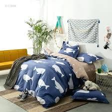 whale bedding kids cartoon bedding set whale elephant crown elk bear duvet covers bedclothes 4 whale