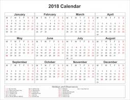 write in calendar 2018 2018 calendar with holidays printable space to write in 4cfg blank