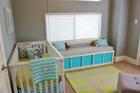3 12 yellow gray and aqua nursery