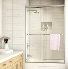 shower sliding doors a perfect space saver sliding shower doors sliding shower doors home depot canada