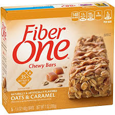 amazon fiber one chewy bars oats and caramel 5 1 4 ounce bars pack of 12 granola and trail mix bars