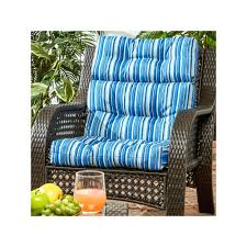 high back outdoor chair cushions set of 2 cushion pack dining