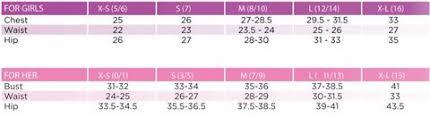 Alegria Size Chart Scrg Full Length Tights