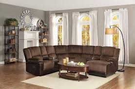 reclining sectional microfiber. Unique Reclining Wayfair Sectionals  Sectional Couches For Sale Reclining Sofas Inside Microfiber