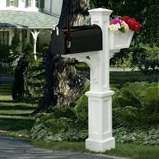 mailbox post plans. Modren Mailbox Triple Mailbox Post See Gallery For This  Plans Intended Mailbox Post Plans