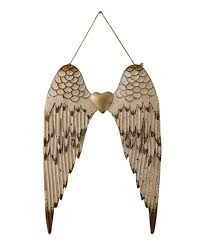 love this metal angel wings wall décor