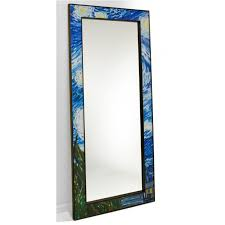 van gogh starry night floor mirror