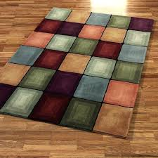 solid colored rugs
