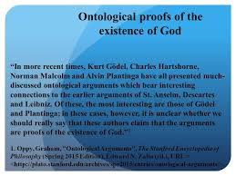 philosophy seminar on kant ppt  ontological proofs of the existence of god