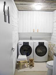 beautiful and efficient laundry room designs decorating and design ideas for interior rooms hgtv bright modern laundry room