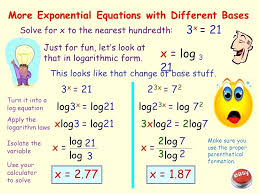 solve for x logarithmic equations math constructing exponential models percent change solve logarithmic equations calculator ti