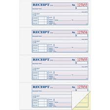 Adams 2 Part Money Rent Receipt Book 200 Count