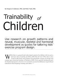 pdf traility of children