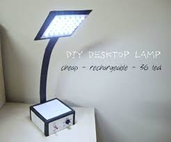 picture of make your own desktop led lamp