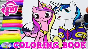 my little pony coloring book mlp ca shining armor episode surprise egg and toy collector setc