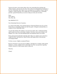 Letter Of Recommendation From Pastor For Student Resume Cover Letter