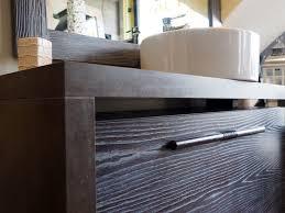 Bagno Legno Marmo : Mobile bagno legno massello da minimal design