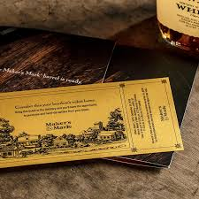 golden ticket to rsvping to ambador bottle dipping event