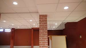 Basement drop ceiling tiles Paint Armstrong 2x2 Dune 1774 In Basement With Multiple Ceiling Drops Strictly Ceilings Midrange Drop Ceiling Tiles Designs 2x2 2x4 Affordable Ceiling