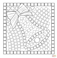 Small Picture Mosaic coloring pages Free Coloring Pages