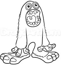 Small Picture My Singing Monsters Coloring Pages On Cartoons With Learn How To