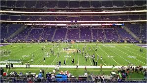 44 Unfolded Vikings Stadium Seating View