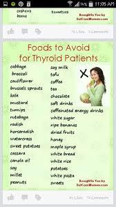 Thyroid Thyroid Diet Diet Chart Hypothyroidism Diet
