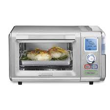 steam toaster oven. Modren Steam Cuisinart Combo Steam U0026 Convection Toaster Oven  06 Cu Ft Brushed  Stainless And D