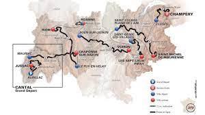 Giro del Delfinato 2019, il percorso