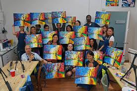 photo of painting lounge new york ny united states