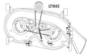 wiring diagram for a cub cadet ltx 1040 the wiring diagram mower deck belt coming off on cub cadet 1045 wiring diagram