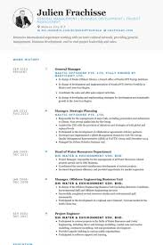 Sample Resume General Manager Awesome General Manager Cv Sample Resume Samples Visualcv Pertaining