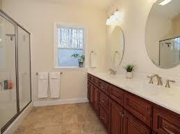 Daltile Bathroom Tile 3 4 Bathroom With Double Sink Limestone In Pinehurst Nc